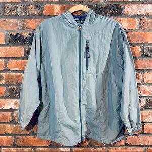 Patagonia Full Zip Hooded Windbreaker Jacket